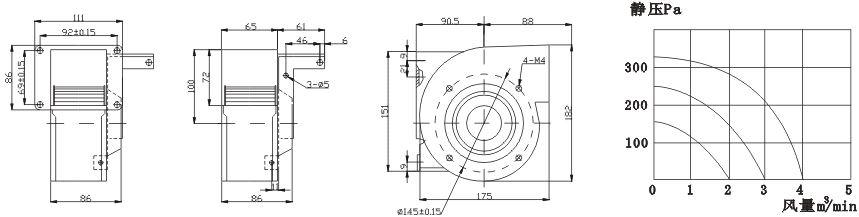 鼓风机电路接线图